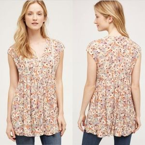 Anthropologie | ladder lace tunic